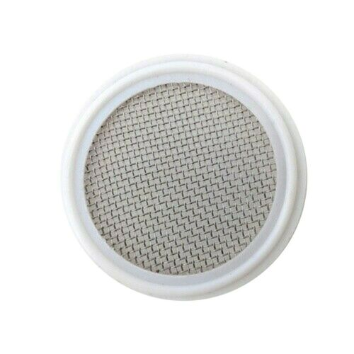 """2/""""Tri-Clamp Gasket Stainless Mesh Screen Distilling Carbon Filter Gin 1x"""