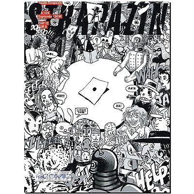 Strapazin 124 COMIC Illustration Zeitschrift INSIDE  Inspiration Kreativität NEU