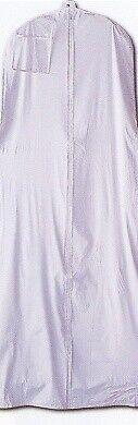 New White Vinyl Church Choir Clergy Robe Gown Dress Garment Bag