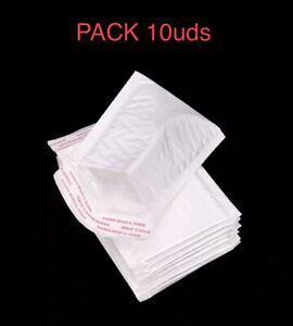10x Sobre Acolchado de envio embalajes para envios Sobres Acolchados Pack