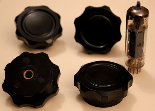 """4 x Very Big Buttons Vintage /"""" Pinch Disc /"""" for Radio /& Audio"""