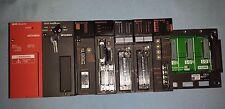 Mitsubishi PLC Rack Assembly A1S61PN A2USCPU A1SX42 A1SD75P3-S3 A1SY42P A1S38B