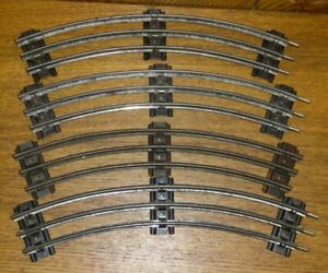4-Vintage-Lionel-NY-O-Gauge-Curved-Train-Track