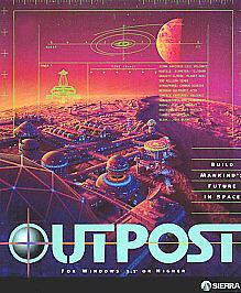 Outpost-Sierra-1994-Big-Box-PC-Game-Windows-3-1-Higher