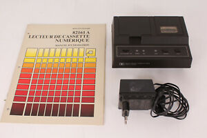 Vintage Hewlett Packard HP 82161A Digital Cassette Drive + French manual