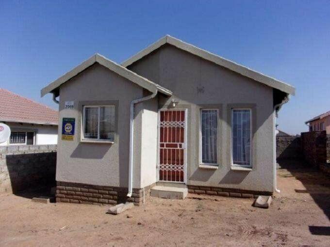 2 Bedroom with 1 Bathroom House For Sale Mpumalanga