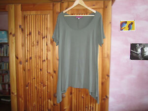 MAT-Zipfel-Tunika-Basicshirt-in-Khaki-Gruen-Gr-42-46-Neu
