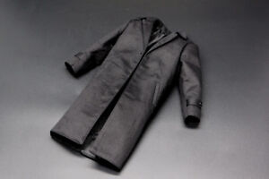Eleven-1-6-Scale-Black-Trench-Coat-Tailored-on-Ganghood-advanced-muscular-body