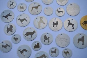 PERSONALISED-DOG-ID-TAGS-ANY-BREED-ENGRAVED-BOTH-SIDES-4-SIZES-SILVER-OR-BRASS