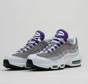 Details about Nike Air Max 95 LV8 Grape Snakeskin AO2450 101 Mens Airmax Shoe Running Sneakers