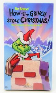 image is loading how the grinch stole christmas vhs animated brand - How The Grinch Stole Christmas Vhs