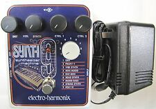 Electro-Harmonix EHX SYNTH9 Synthesizer Machine Guitar Pedal Synth 9