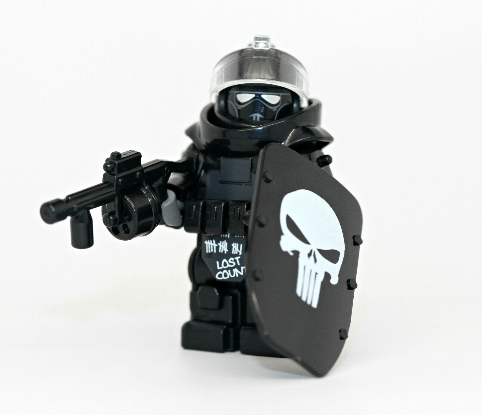 Call Of Duty Juggernaut Skull Armored Assault Minifigure Made With Real Lego For Sale Online