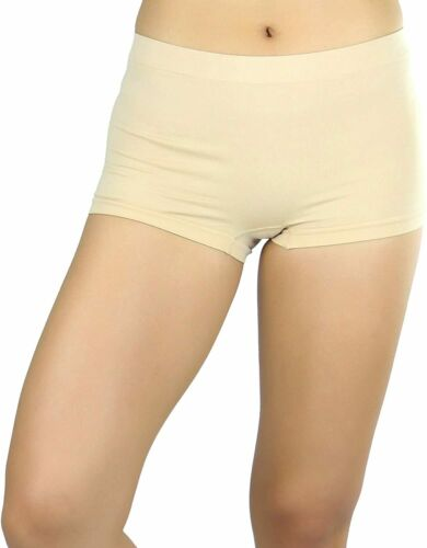 Details about  /ToBeInStyle Women/'s Classic Solid Polyester Blend Basic Boyshorts