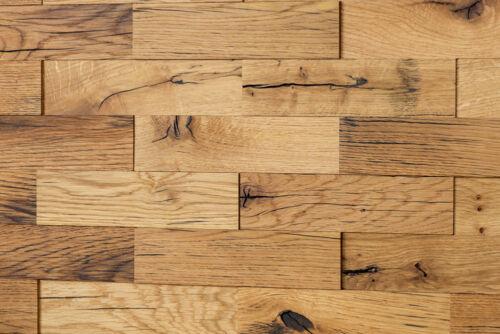 3D Holz WandverkleidungEICHE AltholzHolzwand Holzpaneele Wandgestaltung