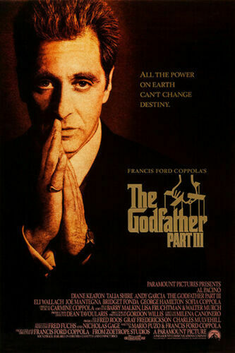 T-478 The Godfather Part III Movie Al Pacino Classic Art Poster Silk 30 24x36