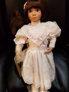 "16"" Doll named Annabelle Georgetown Collectables by Linda Mason porcelain"