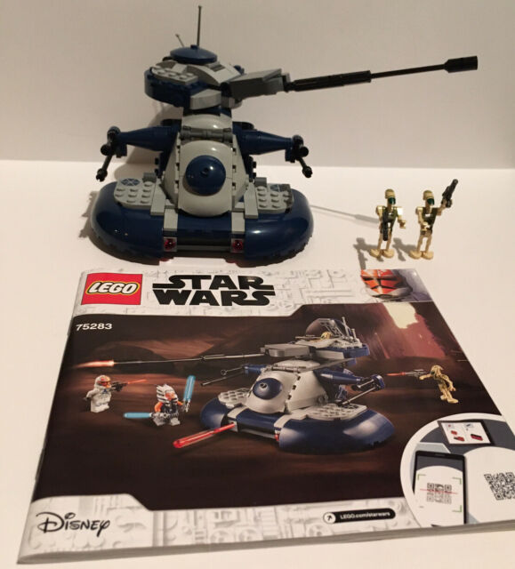 New LEGO Star Wars 75283 AAT With Battle Droids & Manual Armored Assault Tank