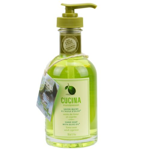 Fruits /& Passion Cucina Lime Zest and Cypress Hand Care Duo Set