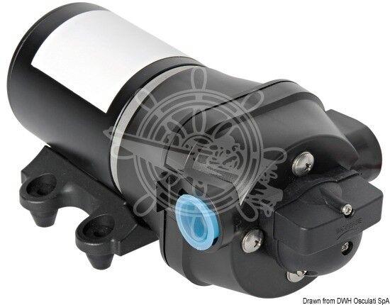 Osculati AQUATECH 4-Ventilen Frischwasserpumpe 24V 17 l/min