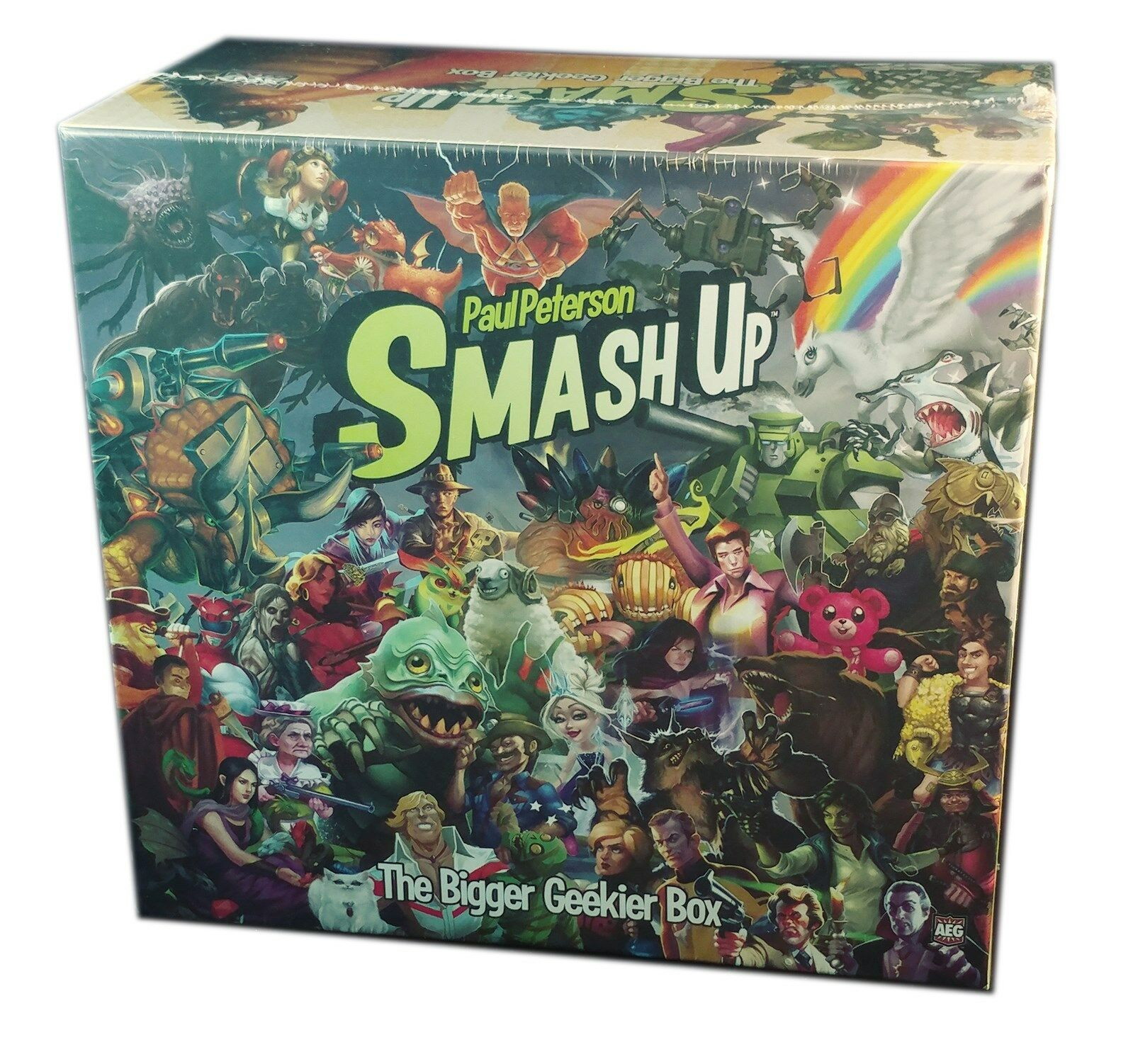 AEG Games, Smash Up, The Bigger Geekier Box Expansion, New and sealed