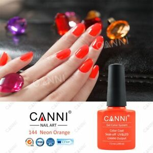 Image Is Loading 144 NEON ORANGE FLUORESCENT GEL POLISH UV LED