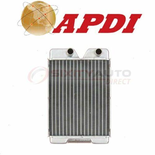 APDI Front HVAC Heater Core for 1985-1987 Ford E-250 Econoline Club Wagon cf