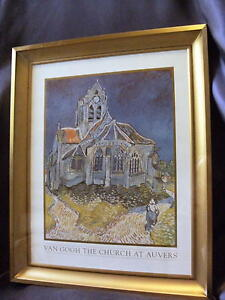 The-Church-At-Auvers-Vincent-Van-Gogh-Print-Picture-Home-Office