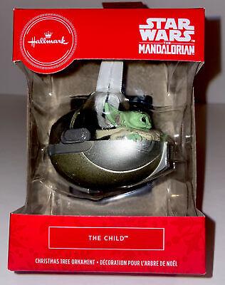 Hallmark 2020 Star Wars The Mandalorian The Child Baby Yoda Red Box Ornament