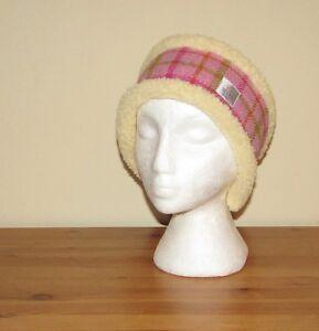 Image is loading Harris-Tweed-Head-Warmer-Headband-Pinks-and-Purples d342e43e2ac