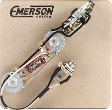Prewired Kit T5 Nashville 5 way 500k Emerson Custom fits to Telecaster ®