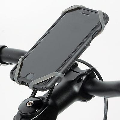 Delta XL Bike Handlebar Mounted Phone Holder Black