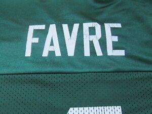 NFL-Brett-Favre-4-Green-Bay-Packers-Reebok-Players-Inc-Size-XL-Green-Jersey