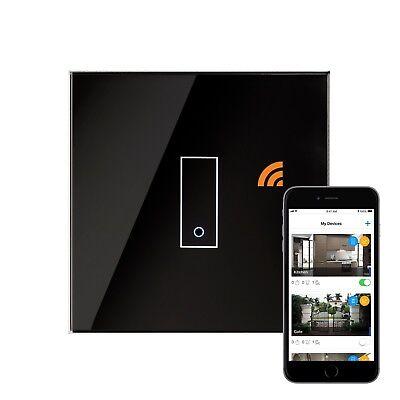 Retrotouch Iotty Touch & Remote Smart Wifi Switch 1 Gang Back Glass 03501 Goederen Van Elke Beschrijving Zijn Beschikbaar