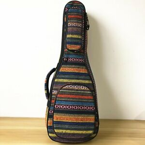 Thick Padded Country Style Gig Bag For 30 Inch Baritone Ukulele 30 Inch Uke Case Ebay