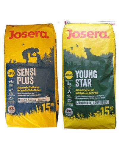 15kg josera sensiplus  15kg josera Youngstar cibo per cani