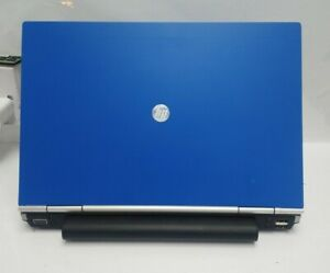 "HP Elitebook 12.5"" Laptop - 2nd Core i5 4Gb RAM 320GB HDD Windows 10 Webcam BLUE"