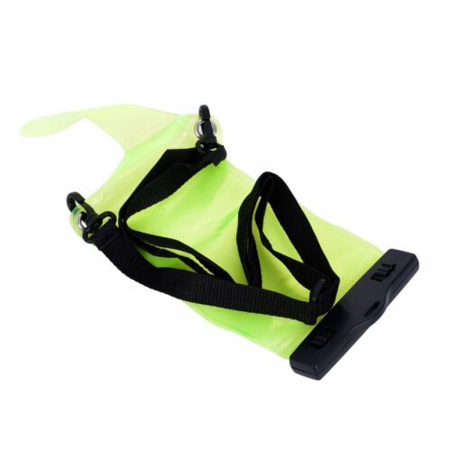 1PCS Transparent Waterproof Green Pouch Bag Case Protect for Radio Walkie Talkie