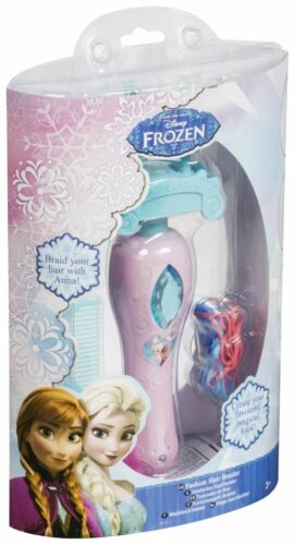 Kids Frozen Hair Braider Twister Styling Toy Comb,Elastic Beauty Gift Set Girls