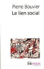 PIERRE BOUVIER   LE LIEN SOCIAL
