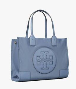 TORY BURCH WOMEN HANDBAG ELLA MINI TOTE BAG BLUE