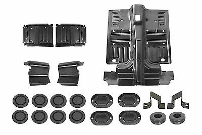 1969-1970 1-Piece Floor Pan Kit Ford Mustang Coupe & Fastback