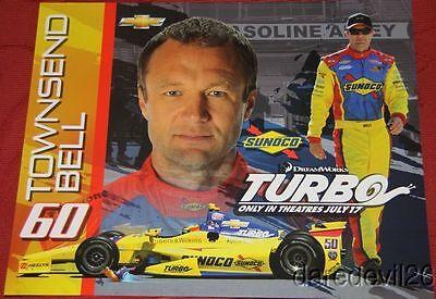 2013 Tony Kanaan Sunoco Turbo Chevy Dallara Indy Car postcard