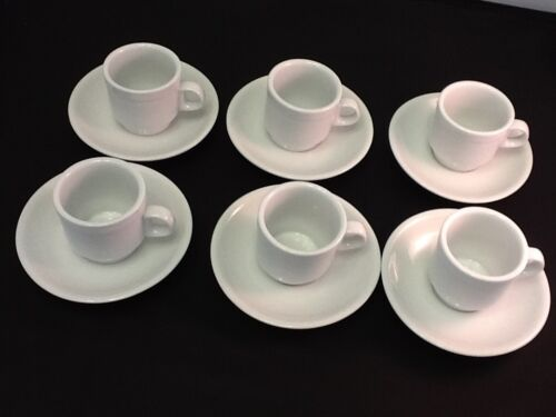 CH 9 Cuban Expresso Tinto 2-3oz 12 pc cup and saucer set Espresso coffee cup