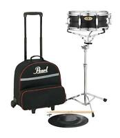 Pearl Sk910c Snare Drum Kit W/ Rolling Cart