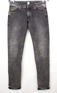 Replay Damen Rockxanne Slim Stretch Jeans Größe W30 L32 AVZ125