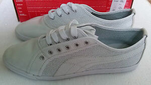 dad1ea9930c4 NEW!! Genuine!!! PUMA Crete Lux Perf Wns white 4049754187809 ...