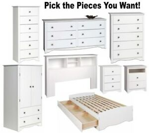 Image Is Loading Quality White Bedroom Furniture Dresser Nightstand Chest Dressers