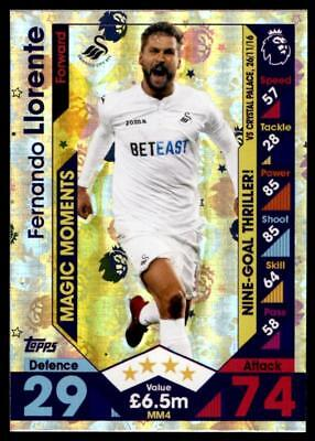 Man of the Match Match Attax 2016//17 Premier League #444 Fernando Llorente