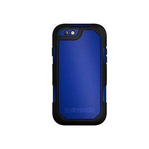 GRIFFIN-CASE-FOR-IPHONE-6S-PLUS-6-PLUS-SURVIVOR-SUMMIT-IMPACT-BLACK-BLUE-GB41617